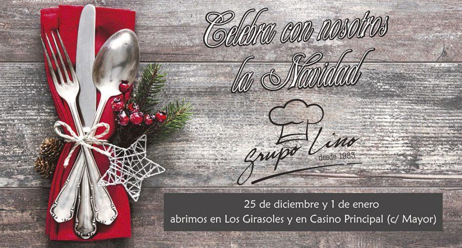 Navidad y Año Nuevo en Los Girasoles y Casino Principal