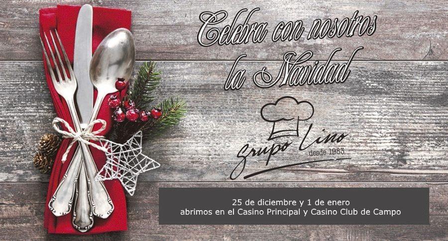 Navidad y Año Nuevo en Casino Principal y Casino Club de Campo