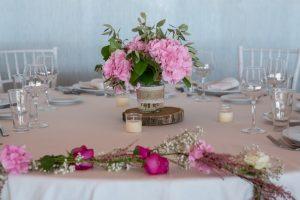 prueba del menú de boda