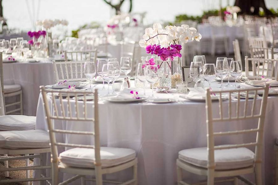 Ideas originales para decorar las mesas de un banquete