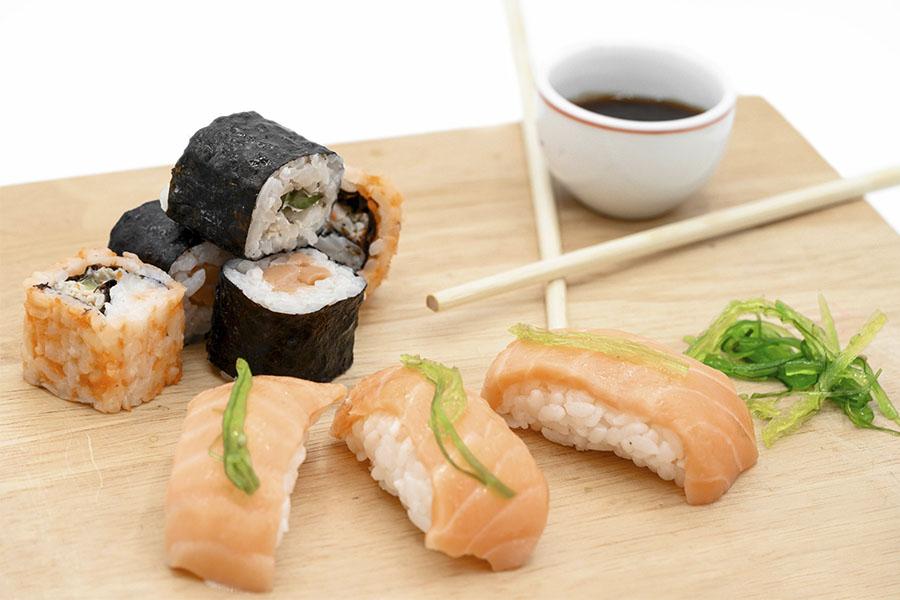 Los diferentes tipos de sushi